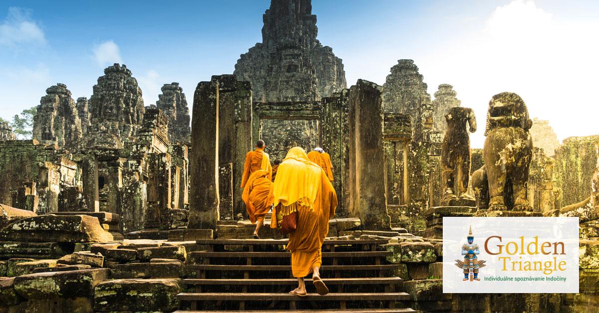 15 dňový zájazd Laos - Kambodža - Vietnam